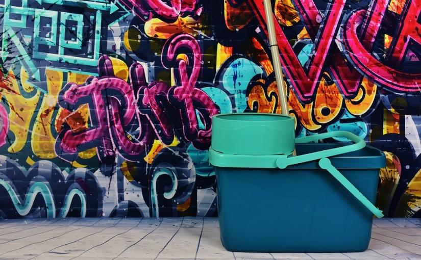 Graffiti fjernelse – gør det selv